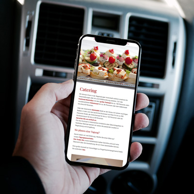 mr. pixel KG | Restaurant Herrmann Mobile