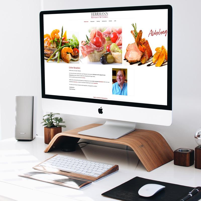 mr. pixel KG | Restaurant Herrmann Website