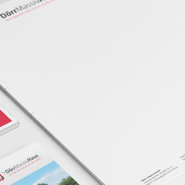 mr. pixel KG | Dörr Massiv Haus Print