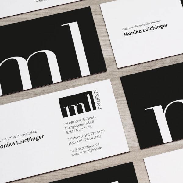 mr. pixel KG | ml Projekte Visitenkarten