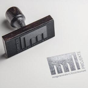 mr. pixel KG | ml Projekte Stempel