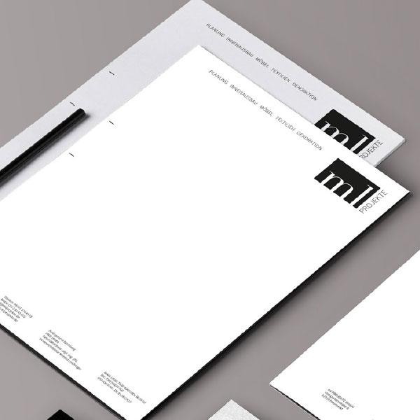 mr. pixel KG | ml Projekte Briefpapier