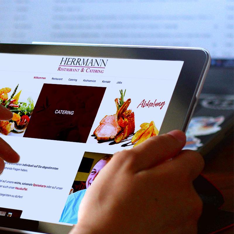 mr. pixel KG | Restaurant Herrmann