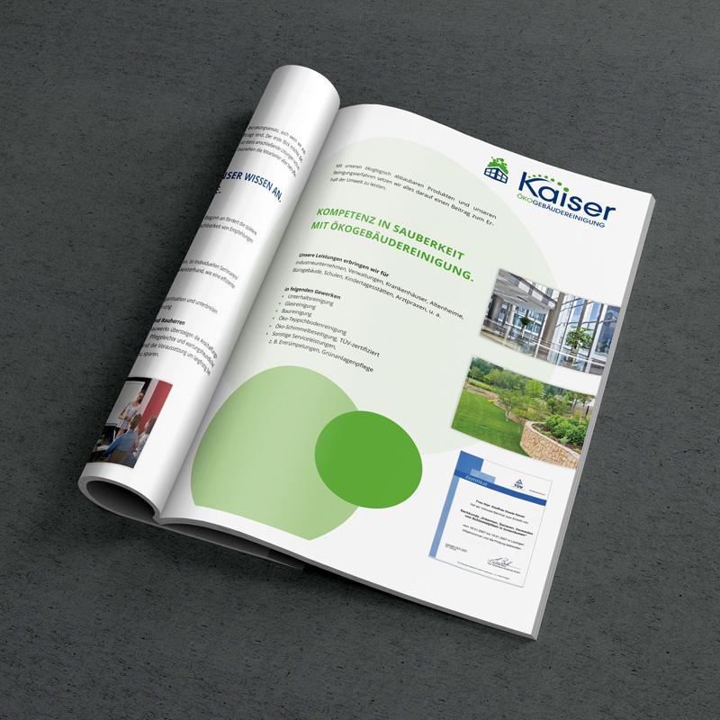 mr. pixel KG | Kaiser Broschüre