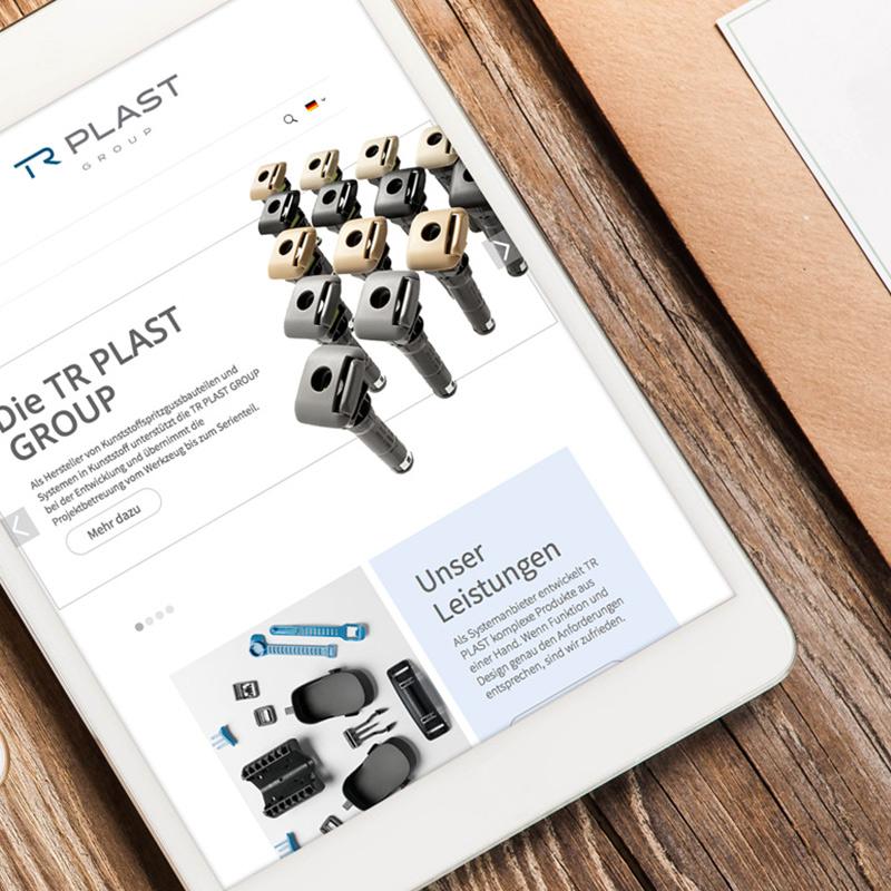 mr. pixel KG | TR Plast responsive Website