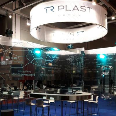 mr. pixel KG | TR Plast Messestand