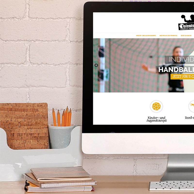 mr. pixel KG   Talentschmiede Website