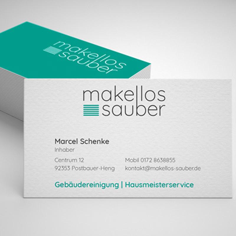 mr. pixel KG | makellos sauber Visitenkarten