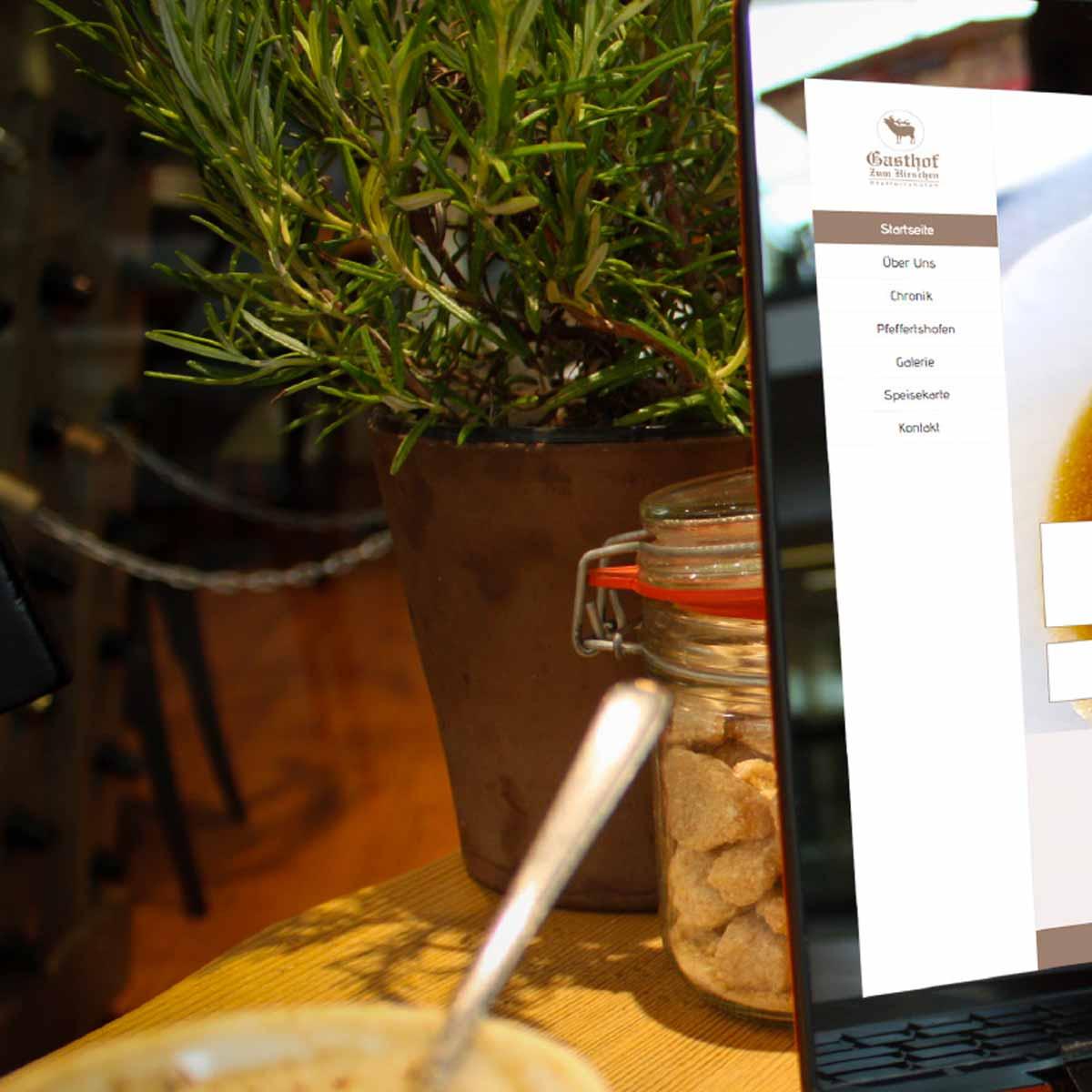 mr. pixel KG | Gasthaus zum Hirschen | Startseite