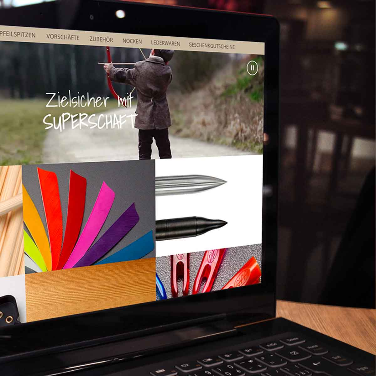 mr. pixel KG | Supershaft| Startseite zielsicher
