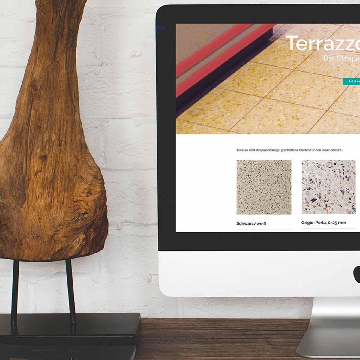 mr. pixel KG | Kufer Platten | Terrazzo