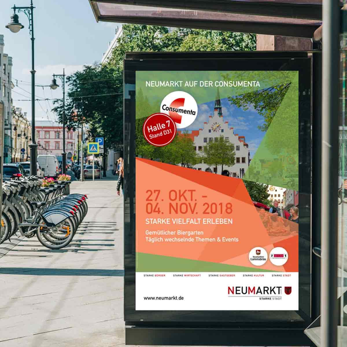 mr. pixel KG | Stadt Neumarkt | Plakat