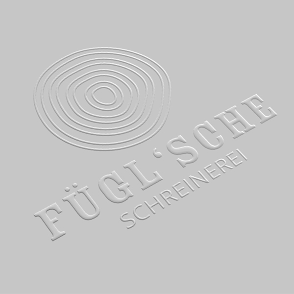 Fügl | Logo Prägung