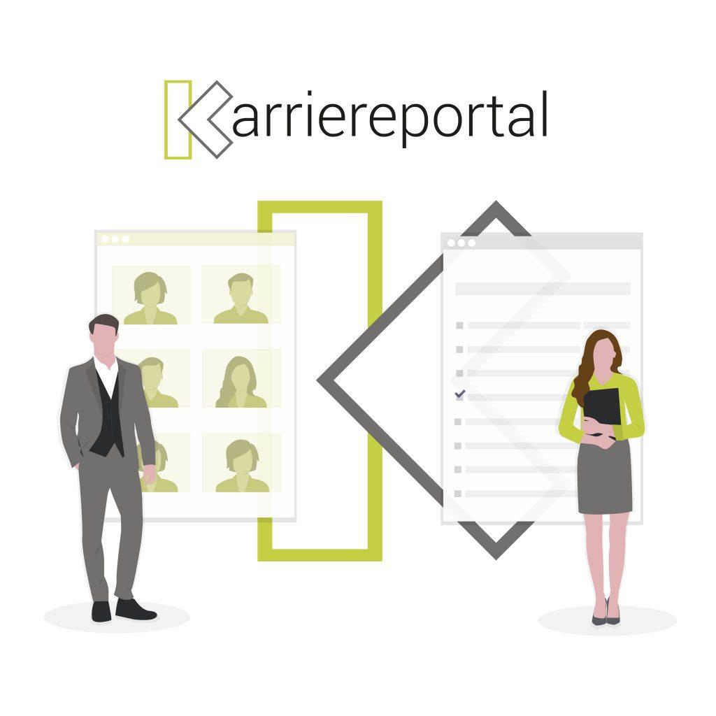 Karriereportal | Produktskizze