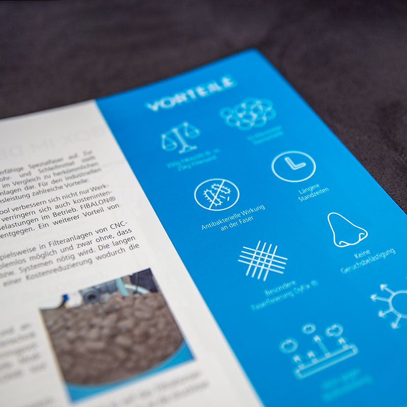Fibalon |Broschuere Icons