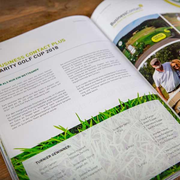 mr. pixel KG | Jura Golf Park Magazin | Rasen