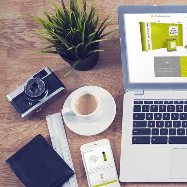 mr. pixel KG | Pixelpress | Laptop links
