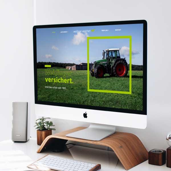 mr. pixel KG | Versicherung Wedinger | iMac