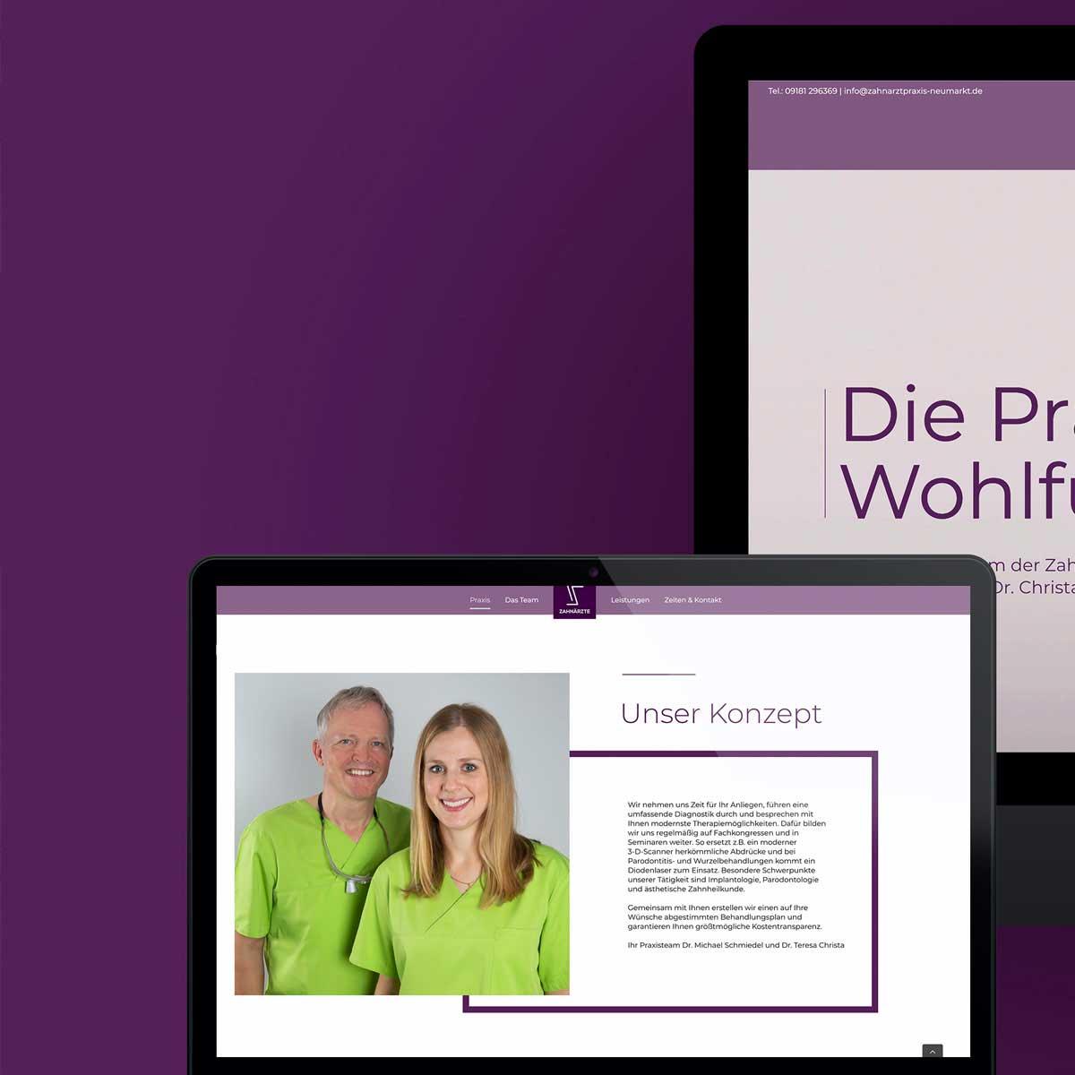 mr. pixel KG | Zahnarzt Schmiedel | responsiv