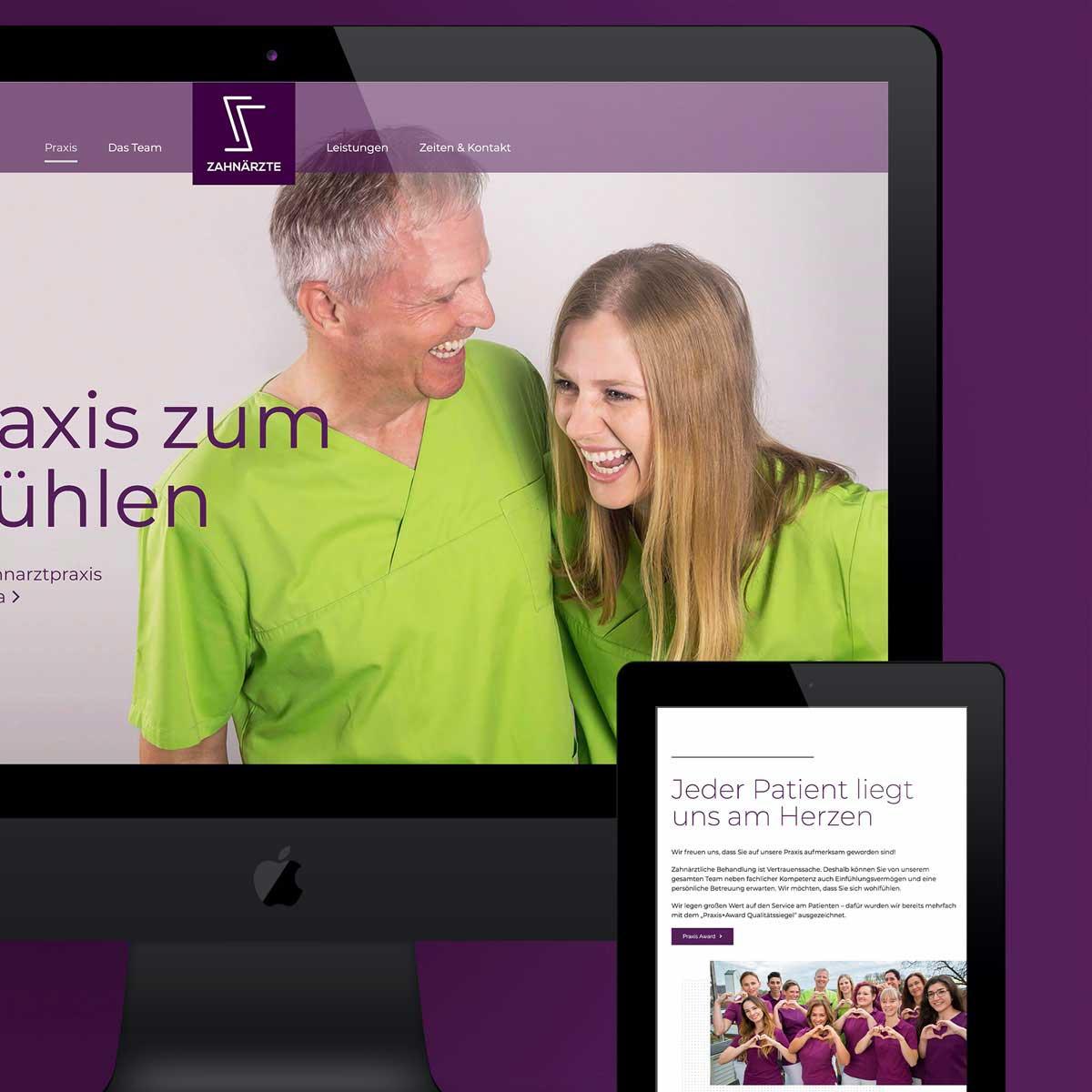 mr. pixel KG | Zahnarzt Schmiedel | Startseite