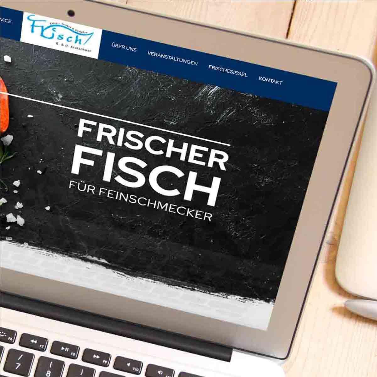 mr. pixel KG | Frischfisch Kratschmer | Header2