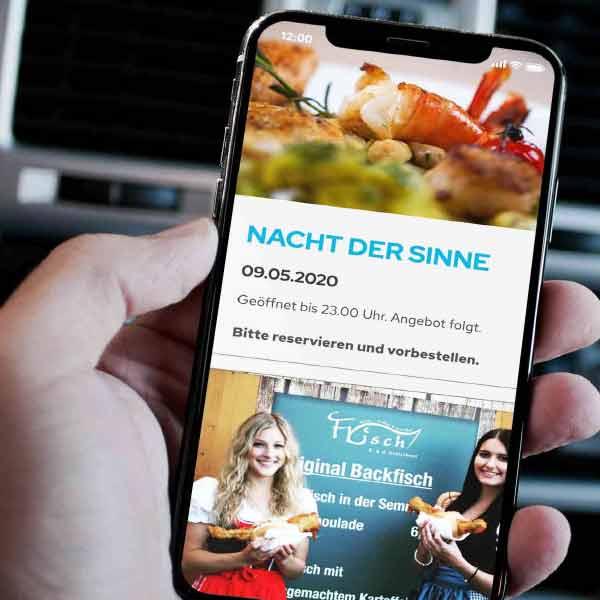 mr. pixel KG | Frischfisch Kratschmer | IPhone