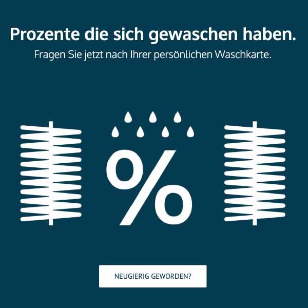 mr. pixel KG | Waschstraße Hanisch | Prozente