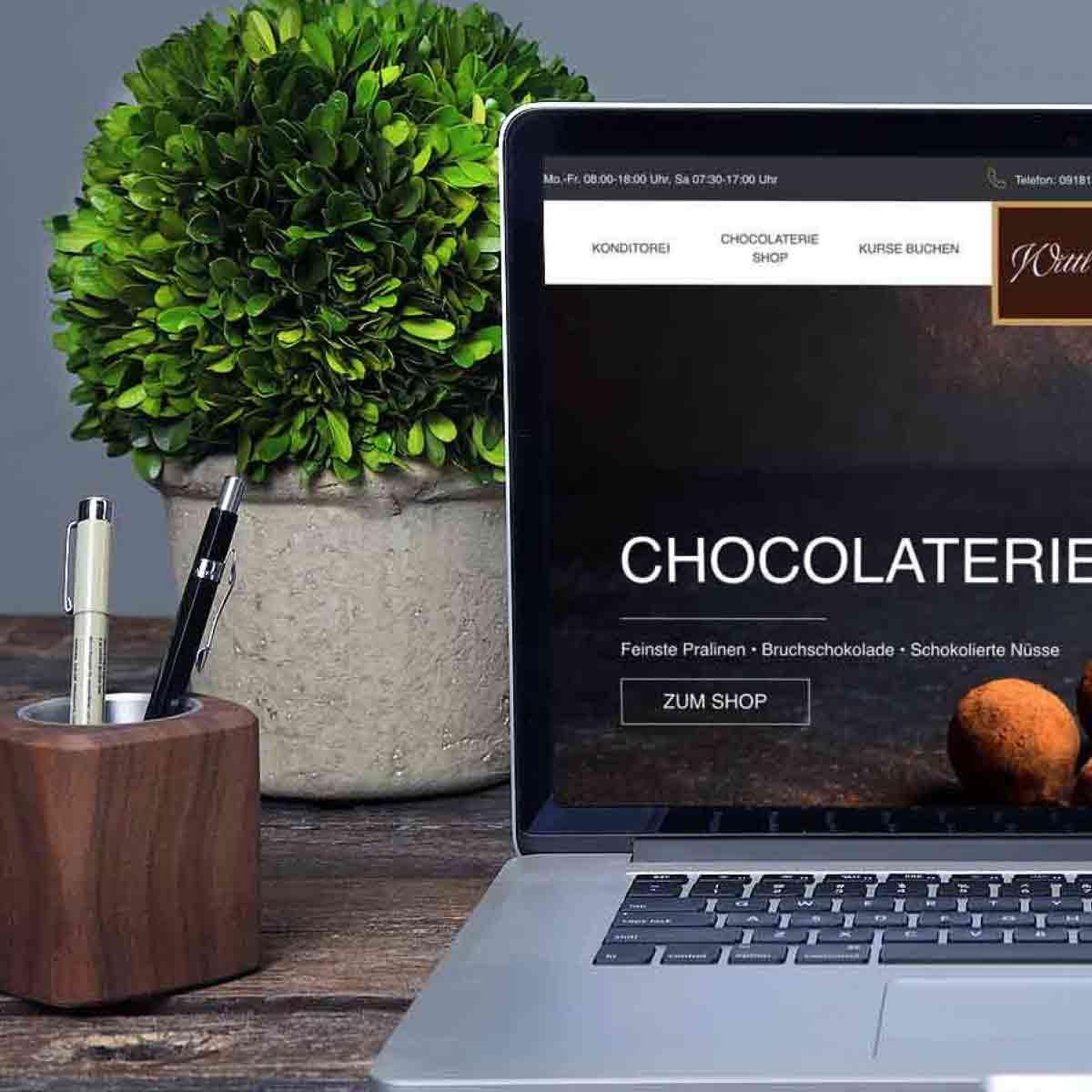 mr. pixel KG | Konditorei Wittl | Chocolaterie