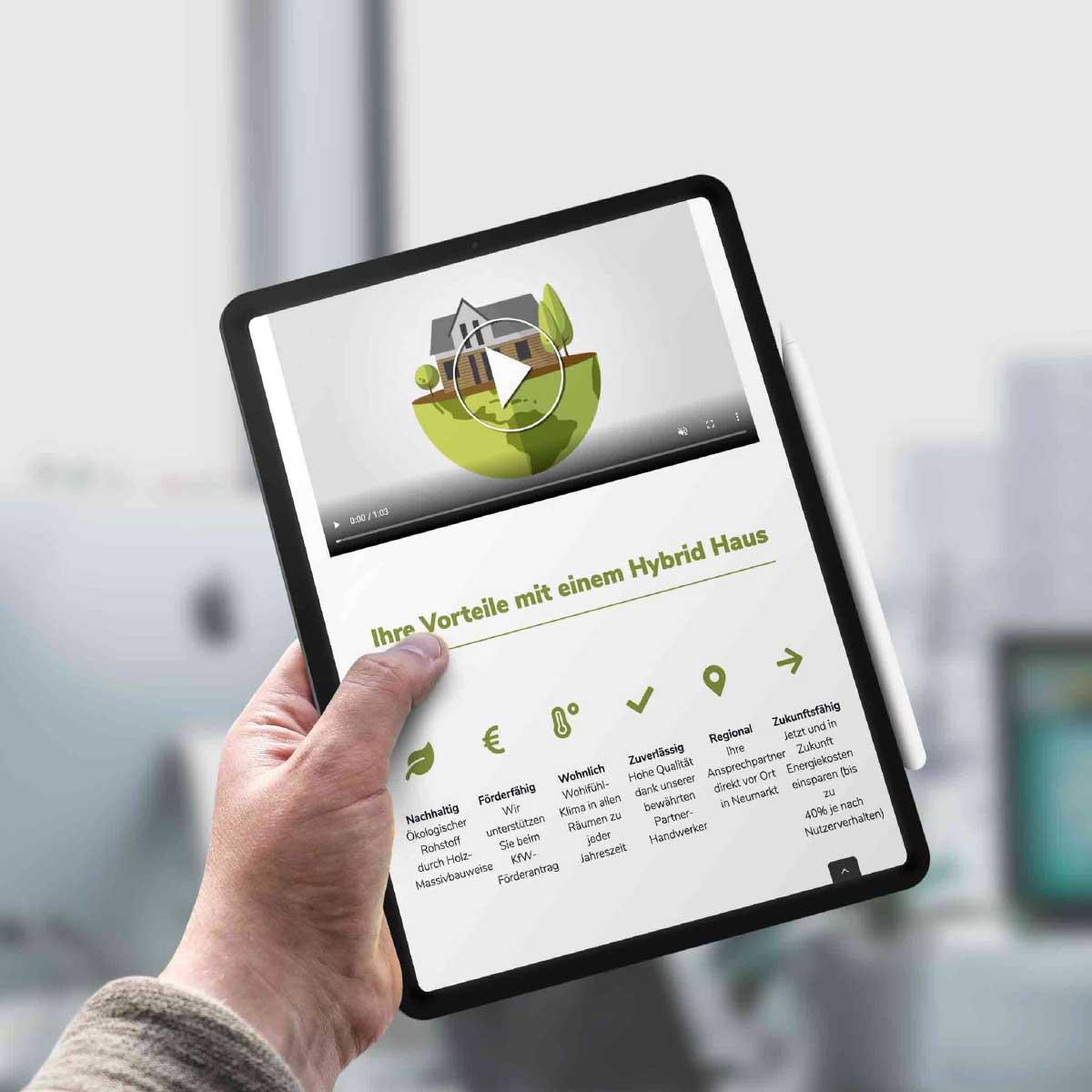 mr. pixel KG | Hybrid Haus| Vorteile