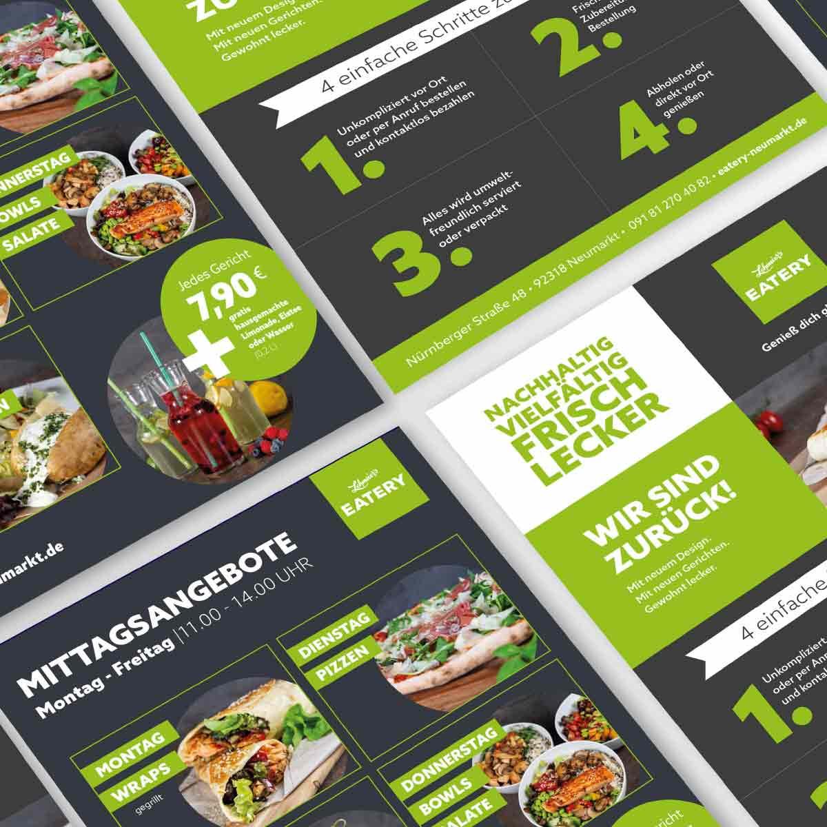 mr. pixel KG | Eatery-Flyer