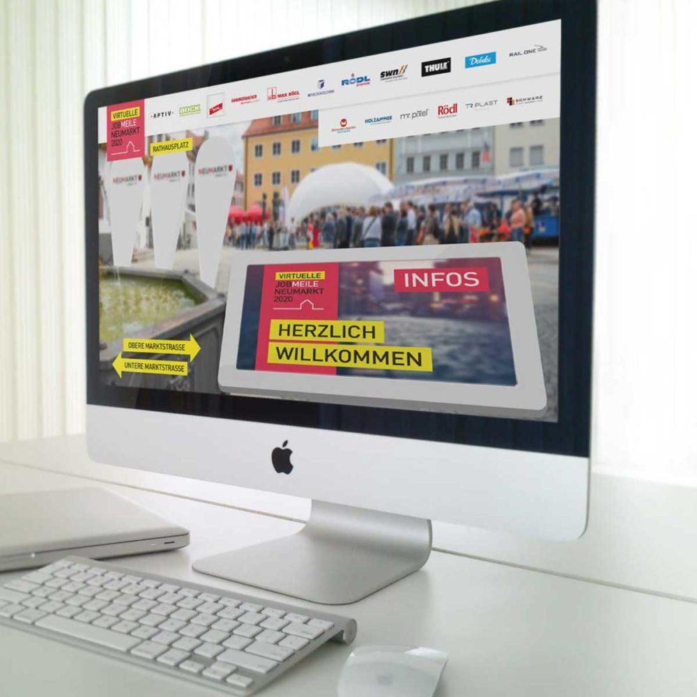 mr. pixel KG | Virtuelle Jobmeile Rathausplatz