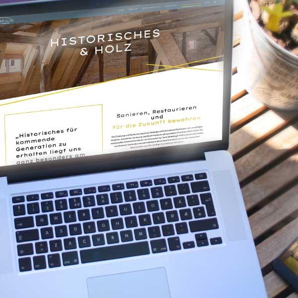 mr. pixel KG | Bogner-Holzbau-Historisches