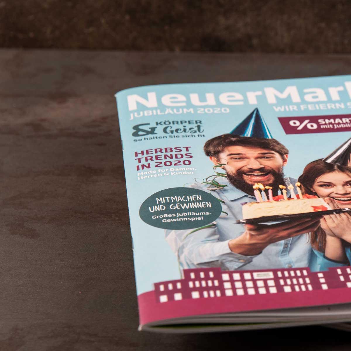 mr. pixel KG | Neuer-Markt-Magazincover