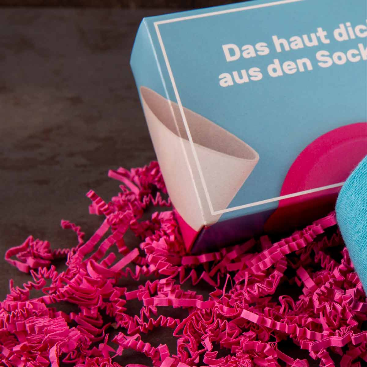 Twin-Promotion-Socken-links