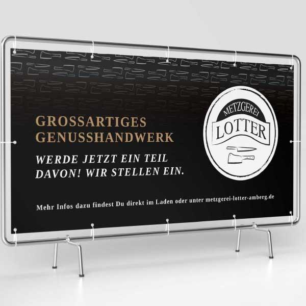 mr. pixel KG   Metzgerei Lotter Banner